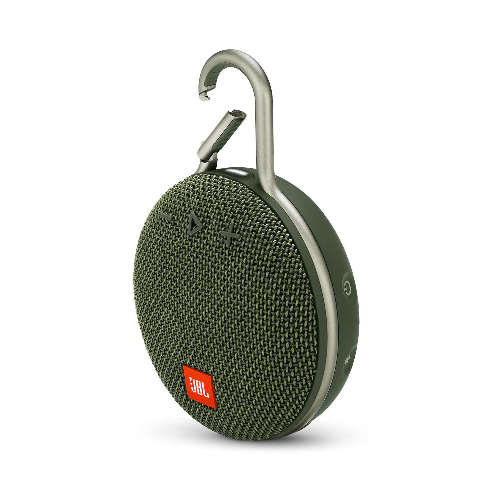 JBL CLIP 3 - Forest Green - Portable Bluetooth® speaker - Hero
