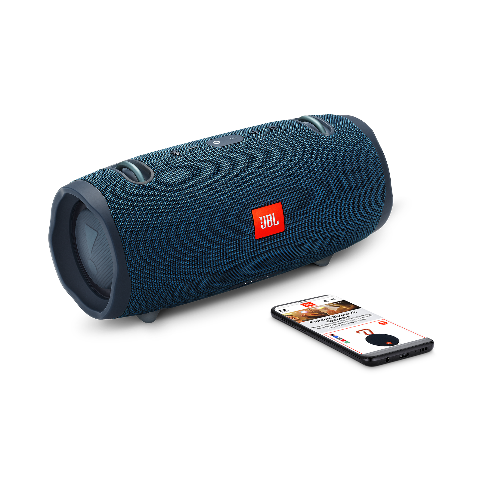 JBL Xtreme 2 - Ocean Blue - Portable Bluetooth Speaker - Detailshot 1