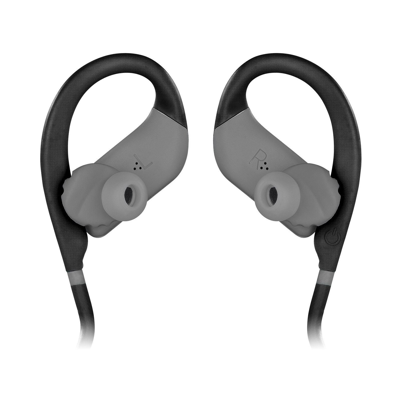 JBL Endurance DIVE - Black - Waterproof Wireless In-Ear Sport Headphones with MP3 Player - Detailshot 1
