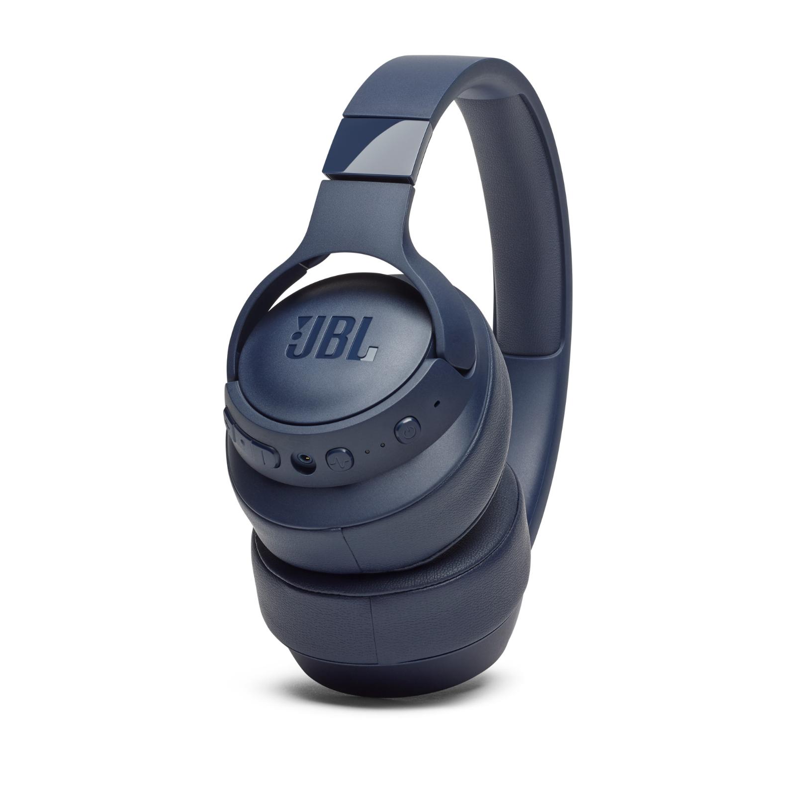 JBL TUNE 750BTNC - Blue - Wireless Over-Ear ANC Headphones - Detailshot 6