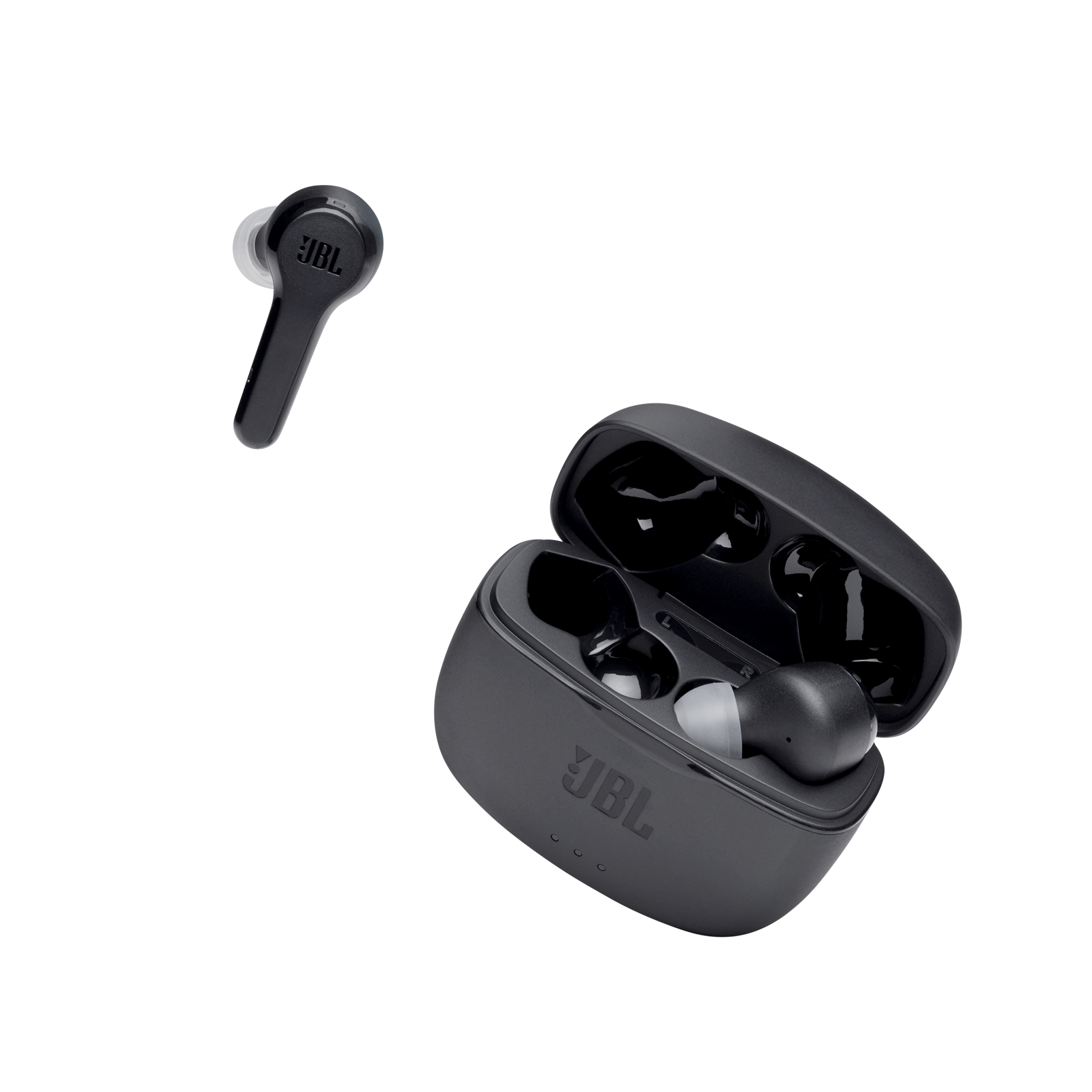 JBL Tune 215TWS - Black - True wireless earbud headphones - Detailshot 2