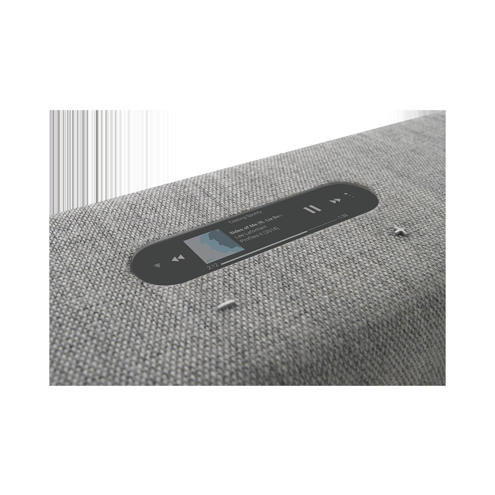 Harman Kardon Citation Bar - Grey - The smartest soundbar for movies and music - Detailshot 1