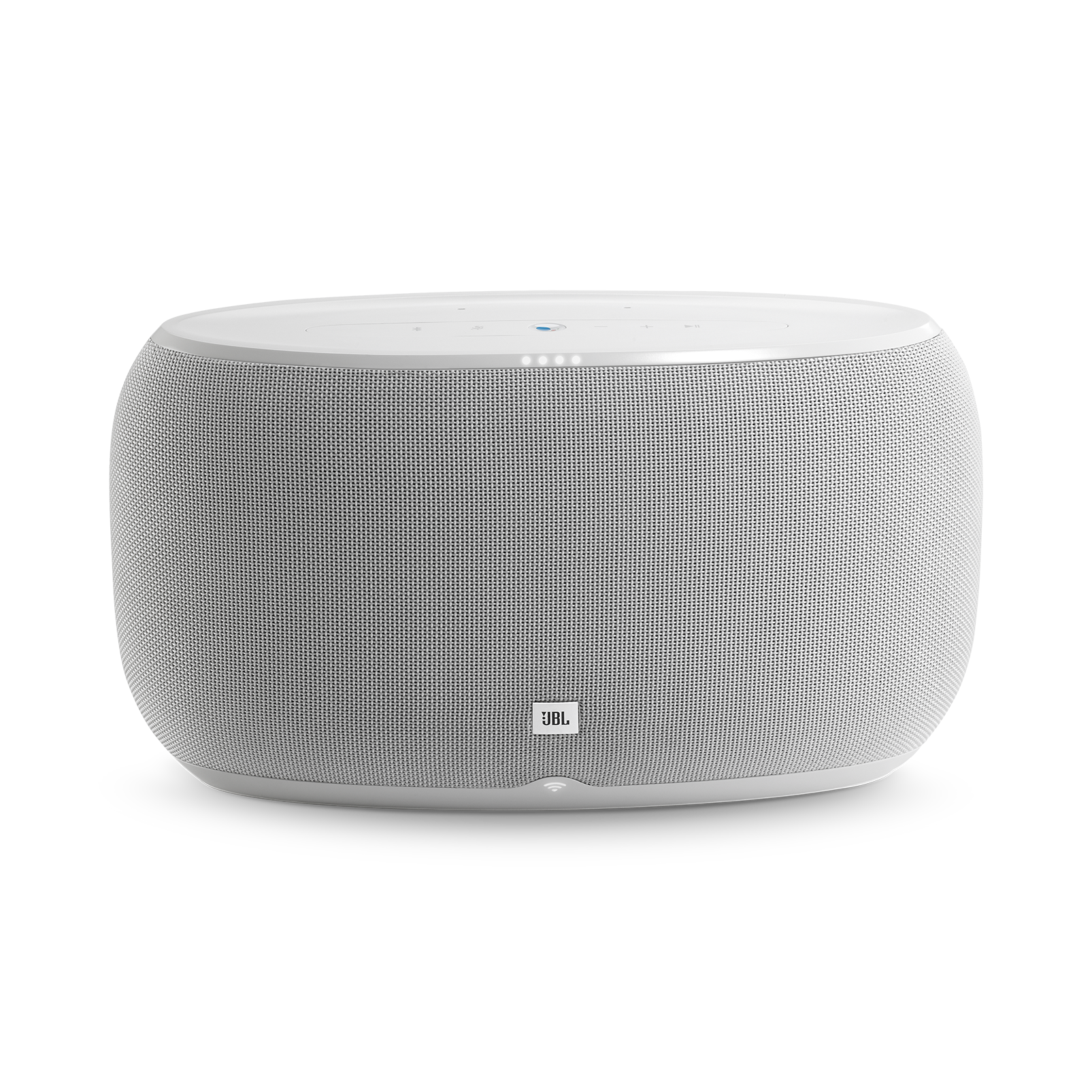 JBL Link 500 - White - Voice-activated speaker - Front