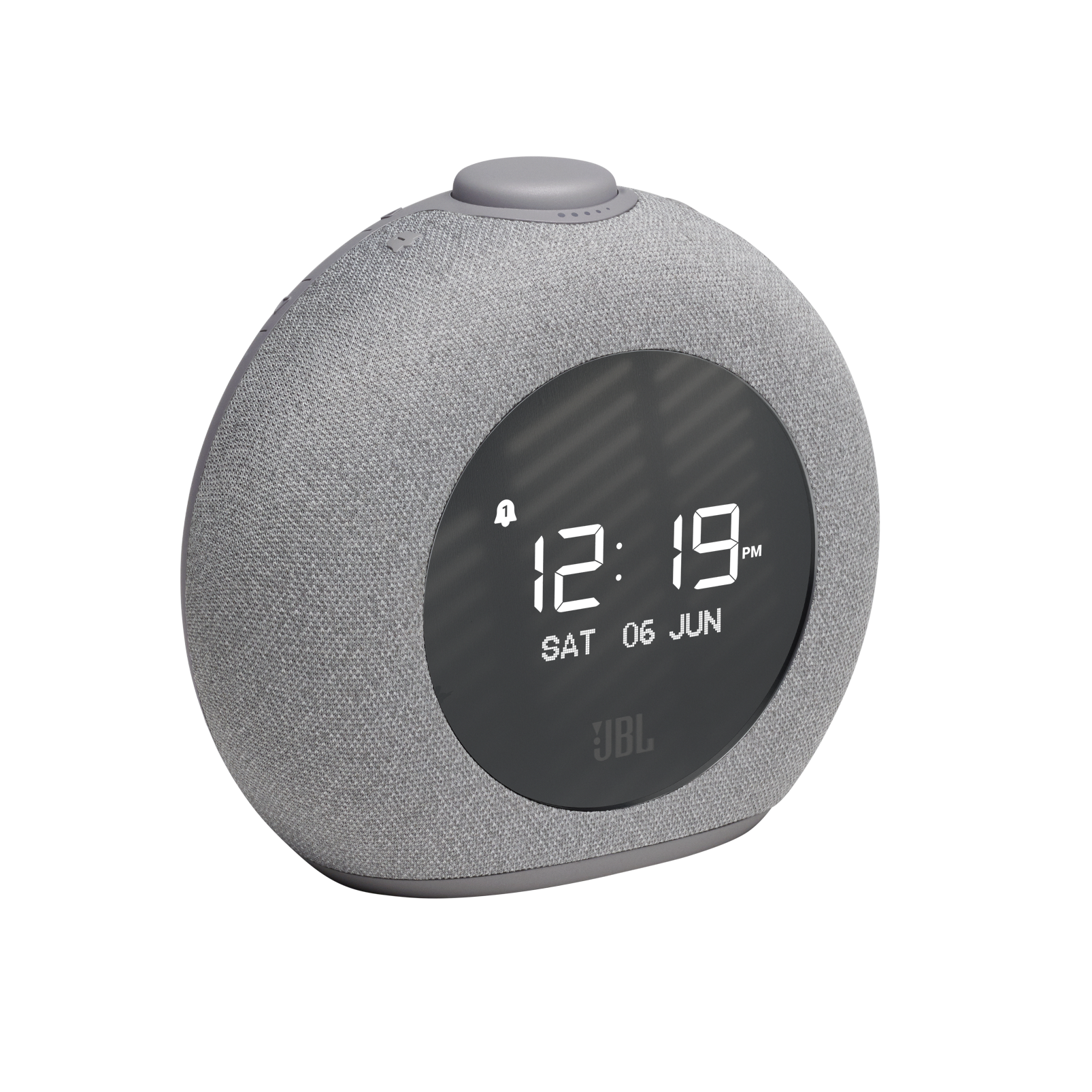 JBL Horizon 2 DAB - Grey - Bluetooth clock radio speaker with DAB/DAB+/FM - Hero