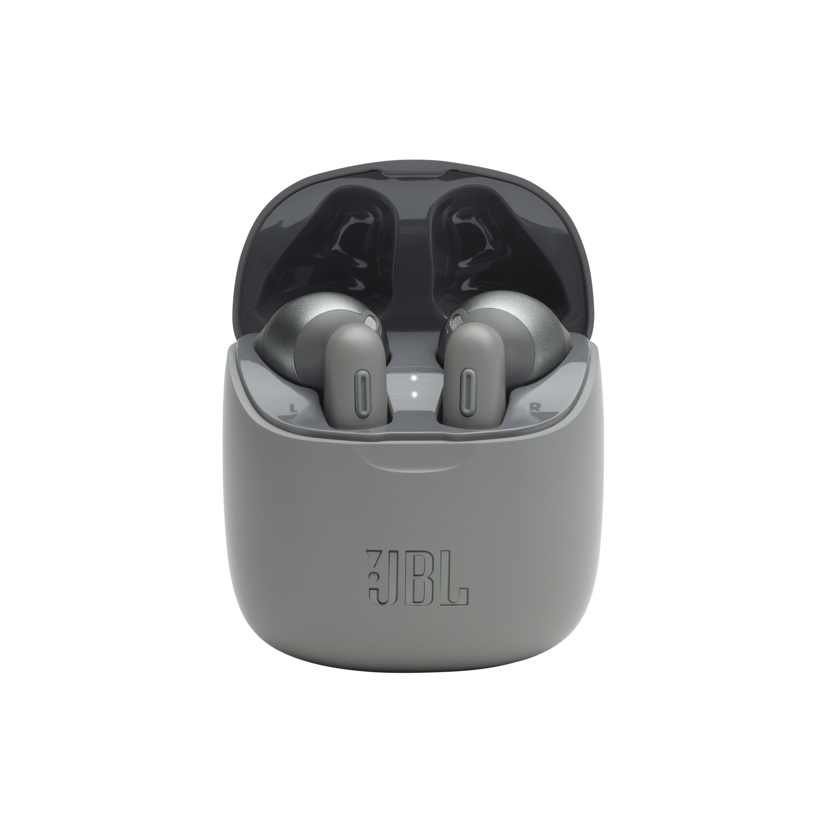 JBL Tune 225TWS - Grey - True wireless earbud headphones - Detailshot 4