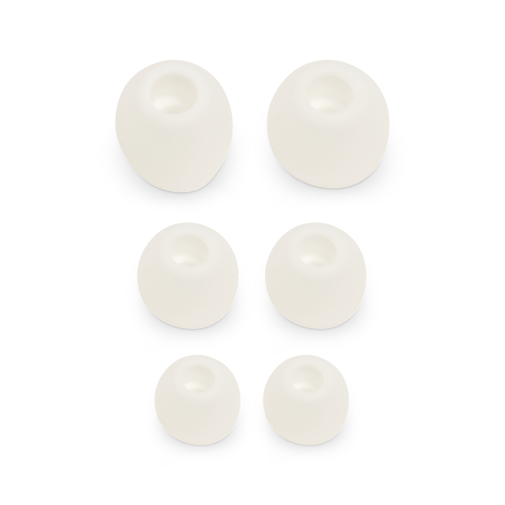 JBL Ear tip set for V110BT - Silver - Ear tips S+M+L (L+R) - Hero