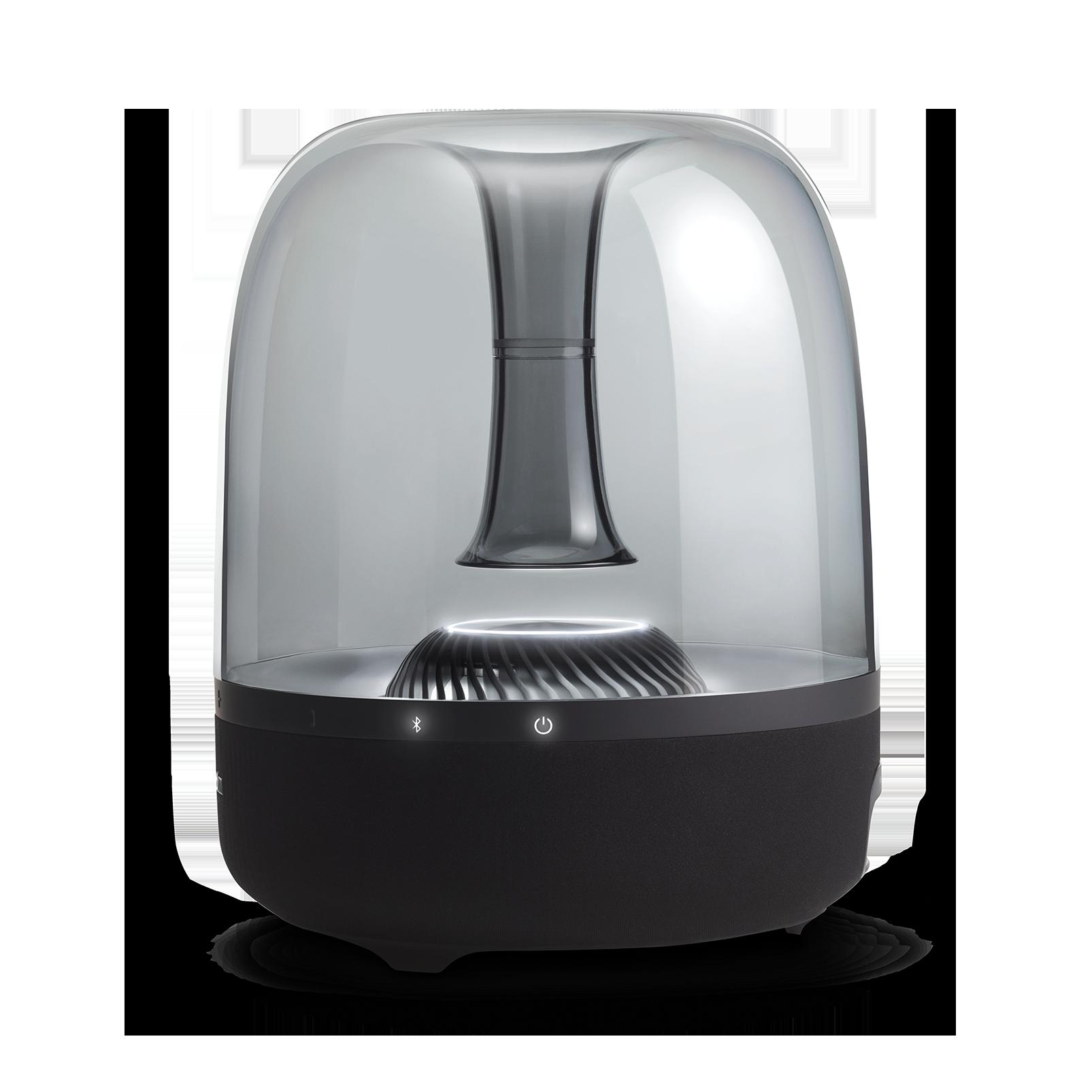 AURA STUDIO 2 - Black - Wireless speaker with ambient lighting - Detailshot 2