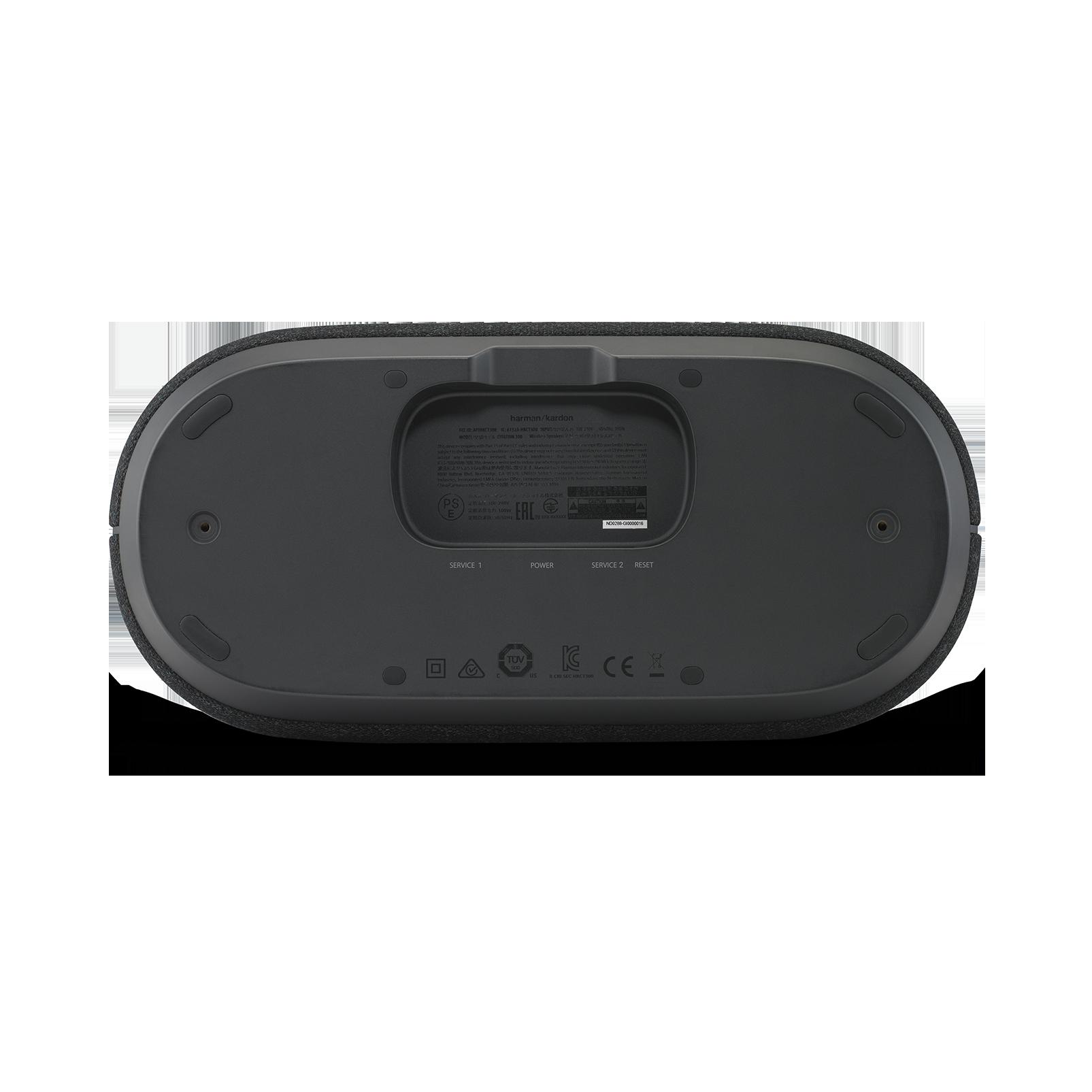 Harman Kardon Citation 300 - Black - The medium-size smart home speaker with award winning design - Detailshot 2