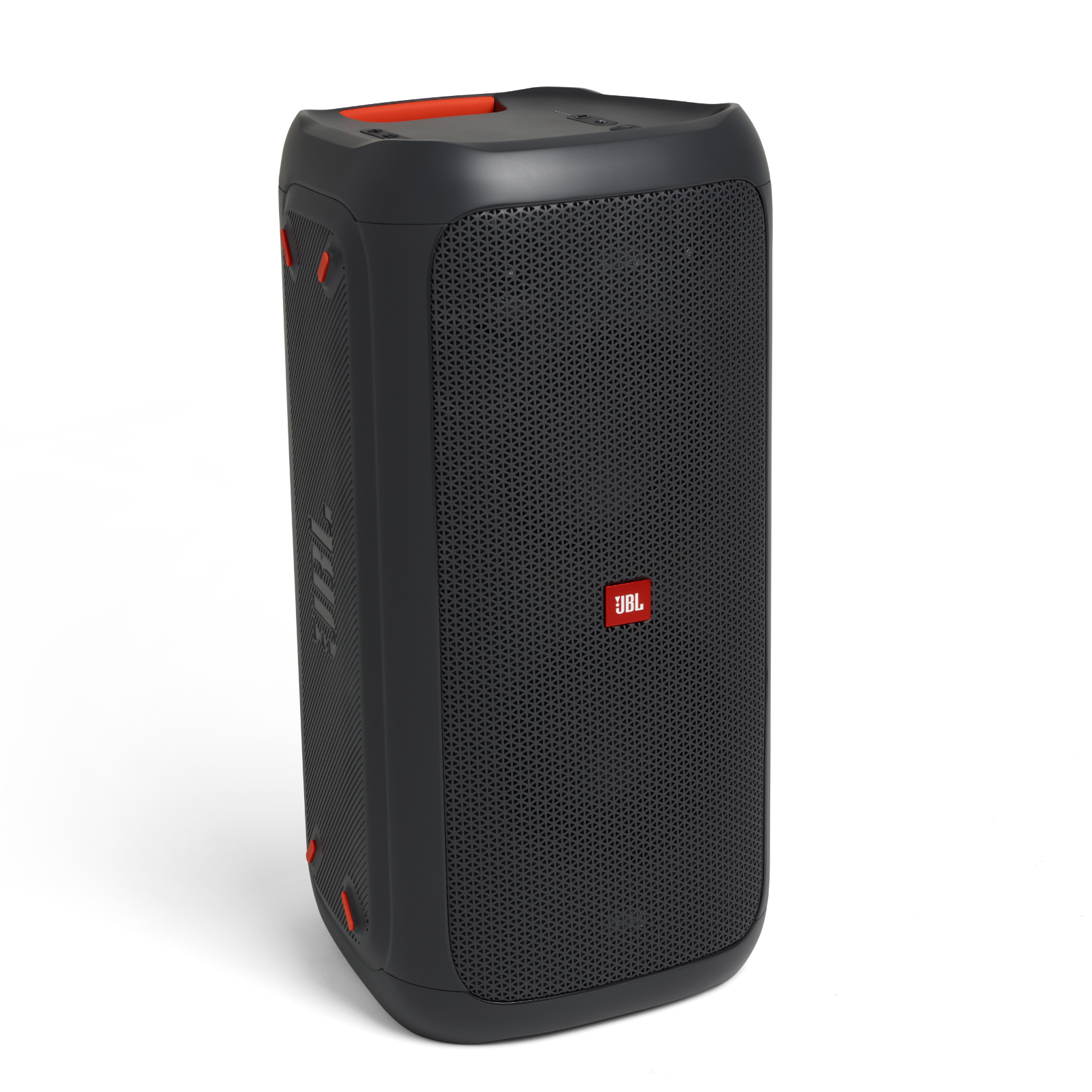 JBL PartyBox 100 - Black - Powerful portable Bluetooth party speaker with dynamic light show - Detailshot 1