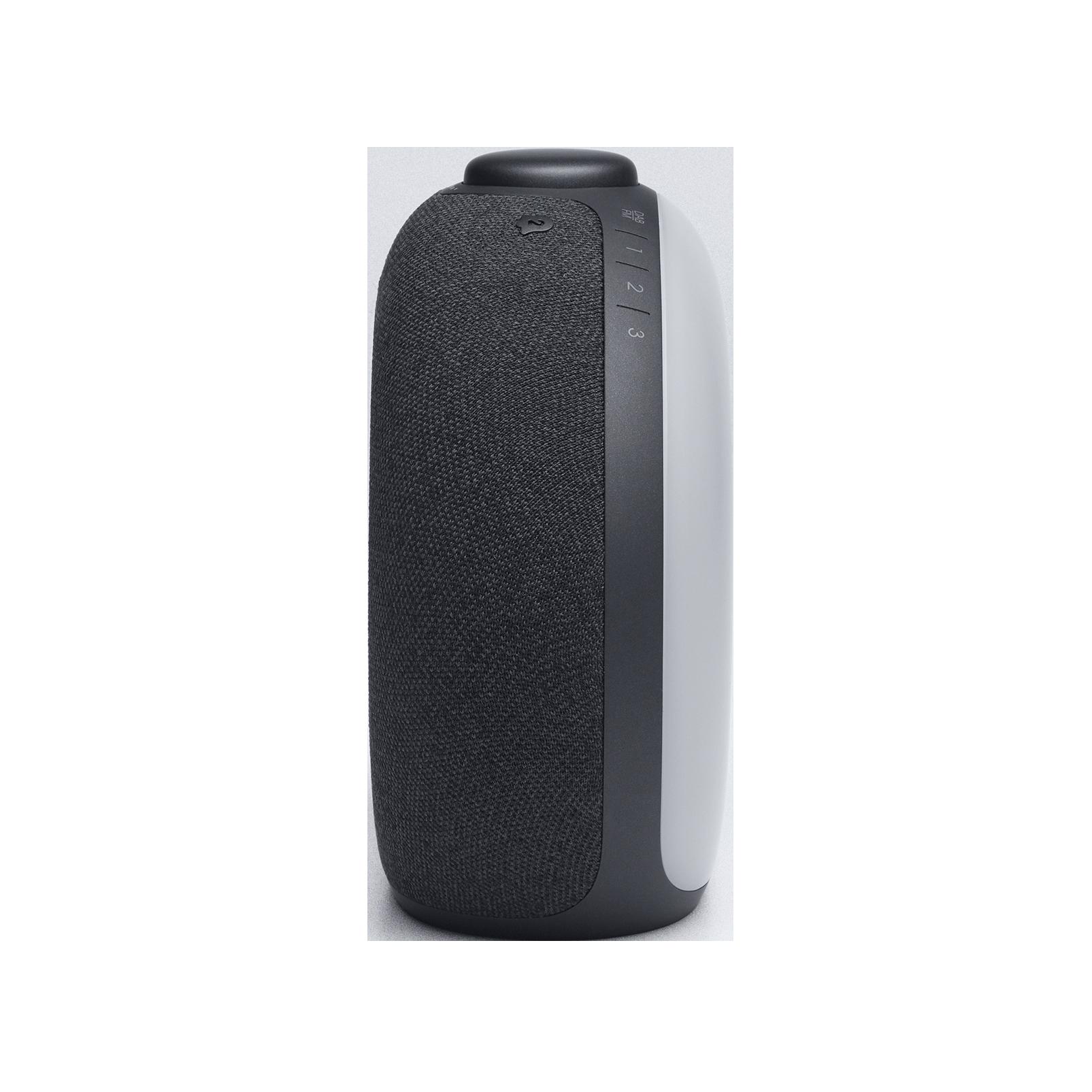 JBL Horizon 2 DAB - Black - Bluetooth clock radio speaker with DAB/DAB+/FM - Left