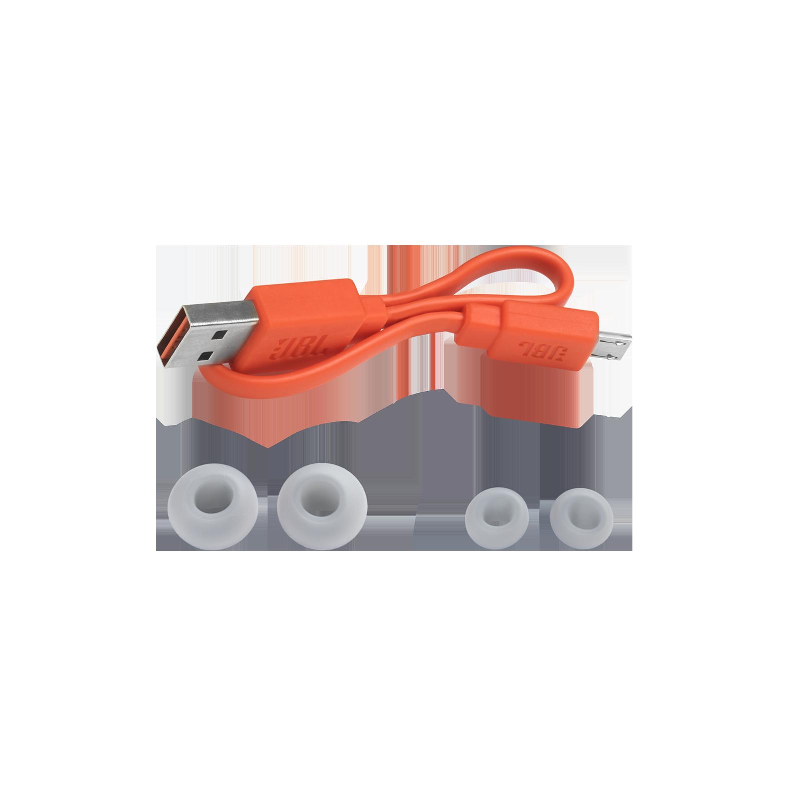 JBL Endurance PEAK - Black - Waterproof True Wireless In-Ear Sport Headphones - Detailshot 4