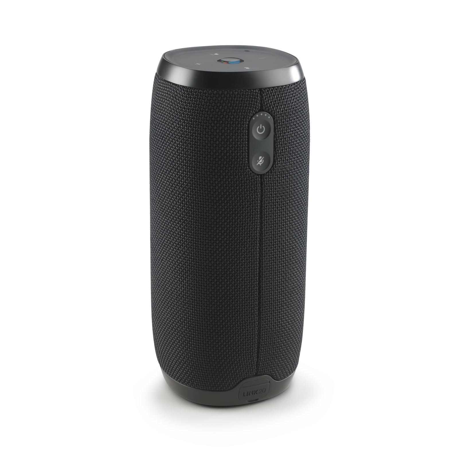 JBL Link 20 - Black - Voice-activated portable speaker - Back